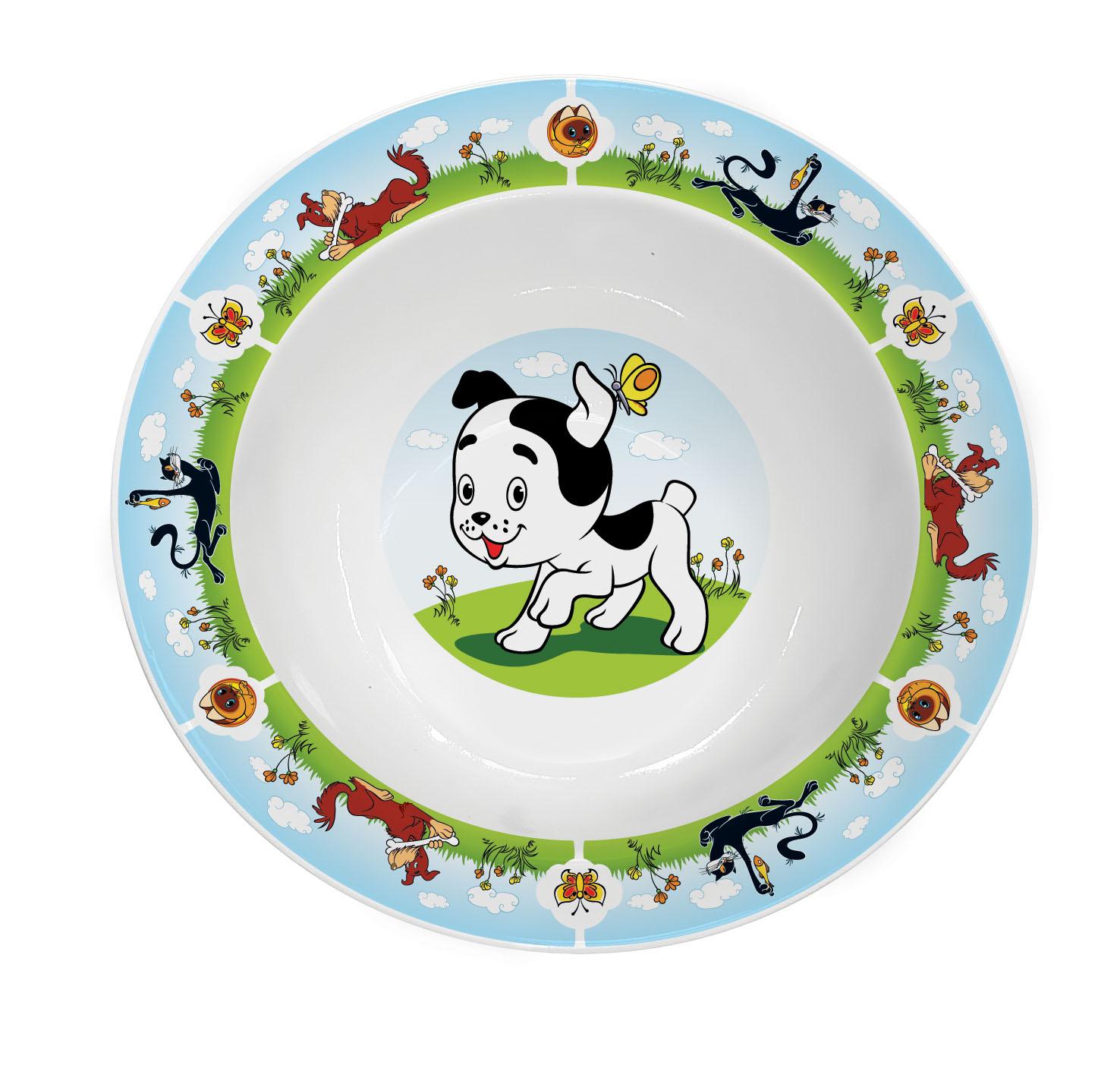 Картинка с тарелкой детские